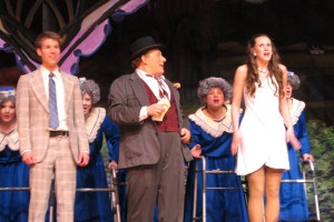 Ulla in The Producers
