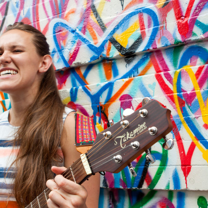 hurricane holly longmore nyc singer songwriter street art