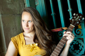 Hurricane Holly Longmore Face with Guitar by Teal Spanish Door NYC